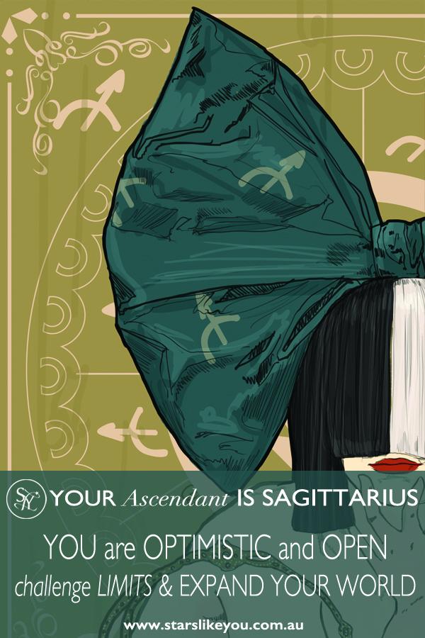 Sagittarius rising ascendant