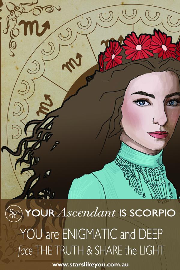 Scorpio Ascendant Rising