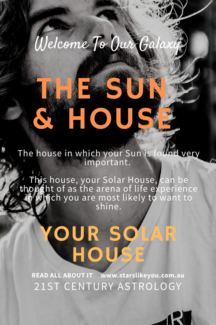 Sun sign and house astrology