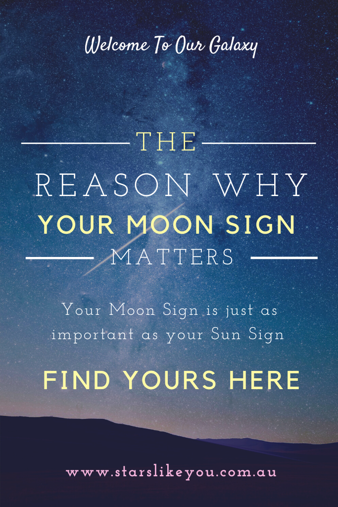 Your Moon sign is just as important as your sun sign