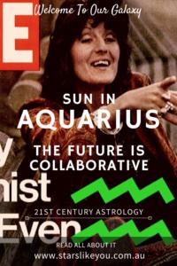 Aquarius sun sign star sign qualities and characteristics